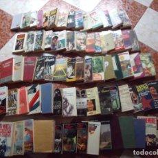 Coleccionismo Papel Varios: NOVELAS.-GRAN LOTE DE 75 NOVELAS.-LOTAZO DE NOVELAS DE DISTINTOS TIPOS.-HISTORICA.-CIENCIA FICCION.. Lote 210616306