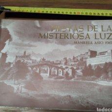 Coleccionismo Papel Varios: PUBLICIDAD FIESTAS DE LA LUZ 1965 MANRESA. Lote 210698644