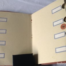 Coleccionismo Papel Varios: CARPETA CLASIFICADOR DE DOCUMENTOS, MARCA SARO, AÑOS 50. VINTAGE. 24,5X17,5X1CM.. Lote 210717650
