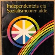Coleccionismo Papel Varios: HERRI BATASUNA 20° ANIVERSARIO (1978-1997) 20 URTE INDEPENDENTZIA ETA SOZIALISMOAREN ALDE. REVISTA. Lote 211441107