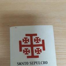 Coleccionismo Papel Varios: LOTE DE 8 PEQUEÑAS IMÁGENES SEMANA SANTA CARTAGENA AÑO 2000 - AGRUPACION SANTO SEPULCRO. Lote 212645348