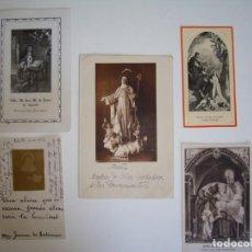 Coleccionismo Papel Varios: LOTE ESTAMPAS RELIGIOSAS SOR MARÍA JESÚS DE ÁGREDA,BEATRIZ DE SILVA,JUANA LESTONNAC,SANTA TERESA.. Lote 276952083