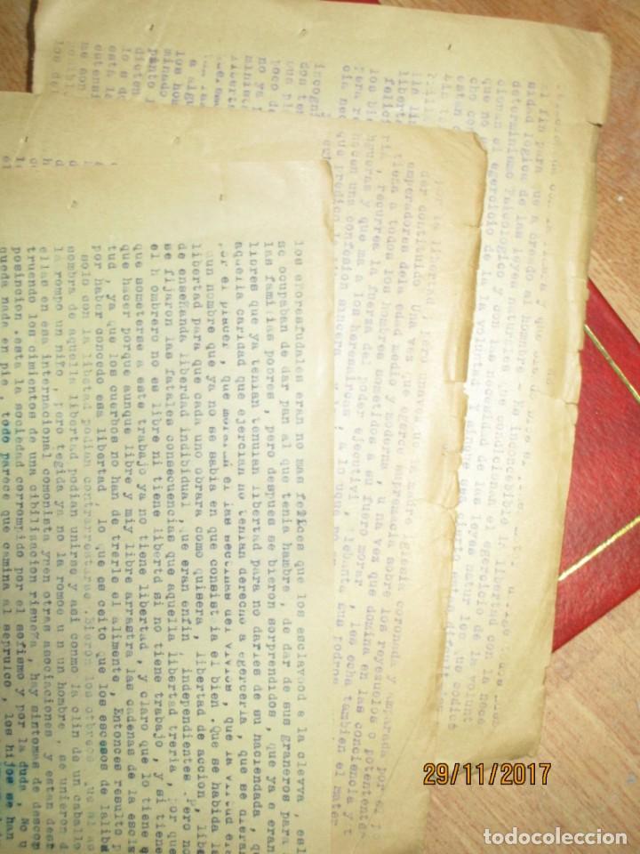 Coleccionismo Papel Varios: obra sobre las libertades trabajo etico social carlos herrero represaliado por franco - Foto 2 - 212764226