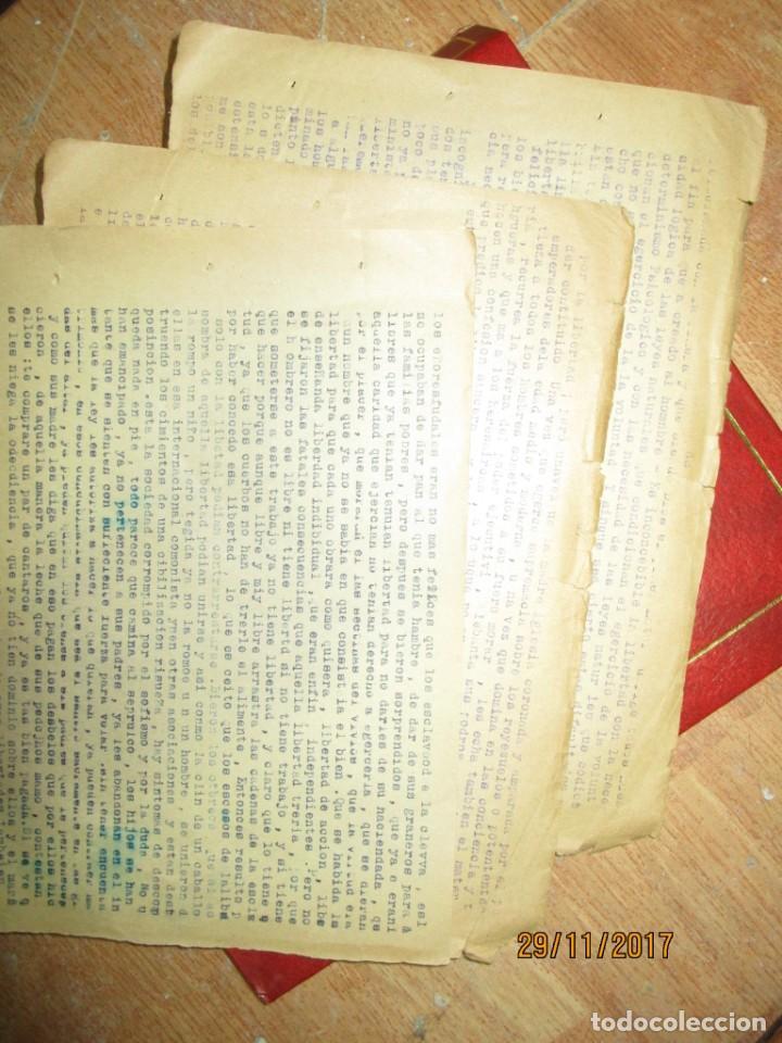 Coleccionismo Papel Varios: obra sobre las libertades trabajo etico social carlos herrero represaliado por franco - Foto 4 - 212764226
