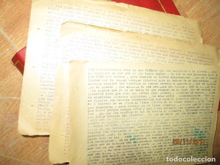 Coleccionismo Papel Varios: obra sobre las libertades trabajo etico social carlos herrero represaliado por franco - Foto 6 - 212764226