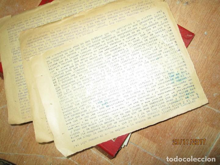 Coleccionismo Papel Varios: obra sobre las libertades trabajo etico social carlos herrero represaliado por franco - Foto 5 - 212764226