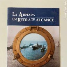 Coleccionismo Papel Varios: LA ARMADA ESPAÑOLA: UN RETO A TU ALCANCE. MILITARIA. FUERZAS ARMADAS DE ESPAÑA. INFANTERÍA DE MARINA. Lote 213079935