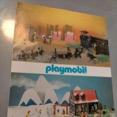 Altri oggetti di carta: PUBLICIDAD FAMOBIL, PLAYMOBIL, PIN Y PON, POPLAND. Lote 213087058