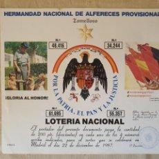 Coleccionismo Papel Varios: PRTICIPACION DE LOTERIA EDITORIAL F.N. 1998. Lote 213608608