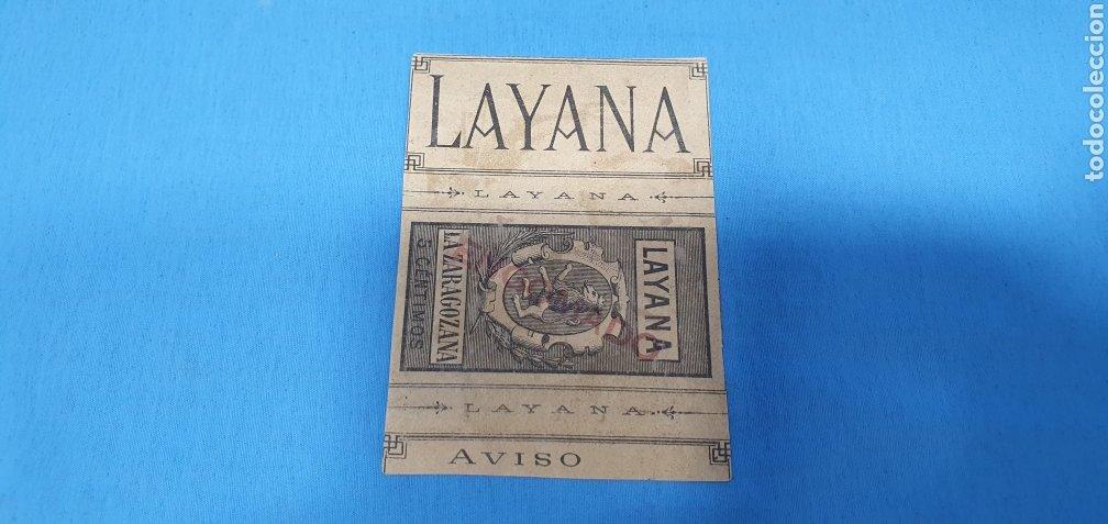 Coleccionismo Papel Varios: PAPEL DE FUMAR - LAYANA LA ZARAGOZANA - MÚSICA Y VINO - VINEA - Foto 2 - 213757301