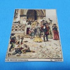 Coleccionismo Papel Varios: PAPEL DE FUMAR - LAYANA LA ZARAGOZANA - LOS RECIÉN CASADOS - G. RAMOS. Lote 213757625