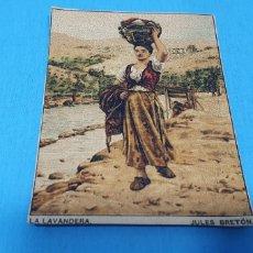 Coleccionismo Papel Varios: PAPEL DE FUMAR - LAYANA LA ZARAGOZANA - LA LAVANDERA- JULES BRETÓN. Lote 213759271