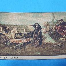 Coleccionismo Papel Varios: PAPEL DE FUMAR - LAYANA LA ZARAGOZANA - DOÑA JUANA LA LOCA - PRADILLA. Lote 213759500