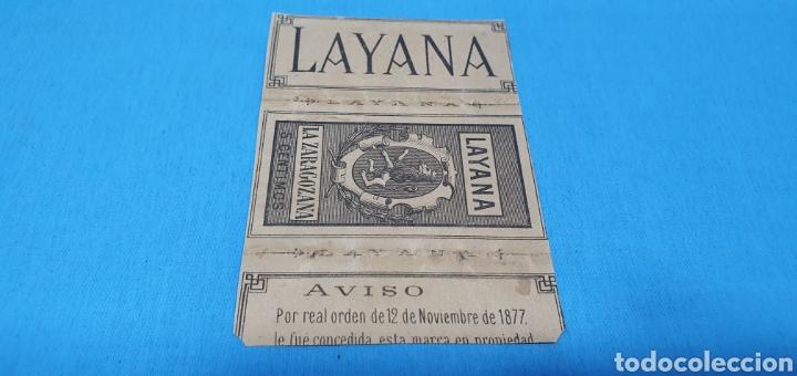 Coleccionismo Papel Varios: PAPEL DE FUMAR - LAYANA LA ZARAGOZANA - EL AMOR Y LA LOCURA - LIONEL ROYER - Foto 2 - 213759915