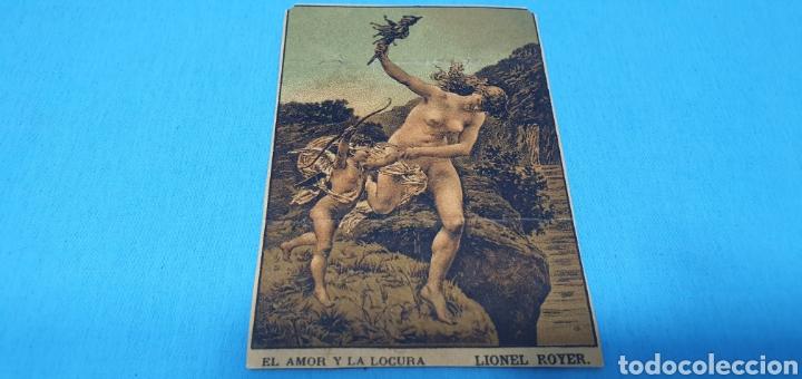 PAPEL DE FUMAR - LAYANA LA ZARAGOZANA - EL AMOR Y LA LOCURA - LIONEL ROYER (Coleccionismo en Papel - Varios)