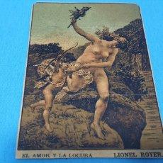 Coleccionismo Papel Varios: PAPEL DE FUMAR - LAYANA LA ZARAGOZANA - EL AMOR Y LA LOCURA - LIONEL ROYER. Lote 213759915