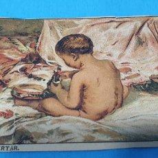 Coleccionismo Papel Varios: PAPEL DE FUMAR LAYANA LA ZARAGOZANA- AL DESPERTAR - Y. PINAZO.. Lote 213760120