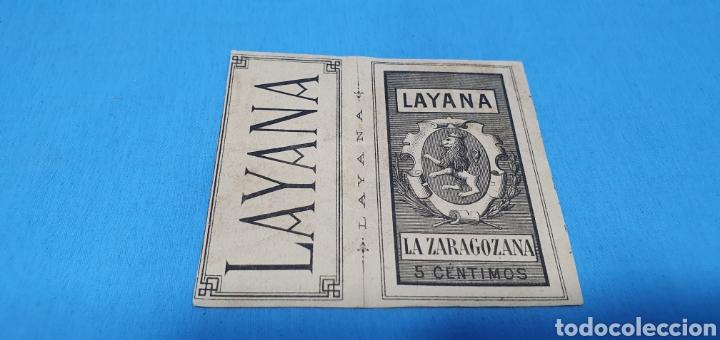 Coleccionismo Papel Varios: PAPEL DE FUMAR LAYANA LA ZARAGOZANA- ROMEO Y JULIETA - BECKER - Foto 2 - 213761170