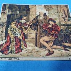 Coleccionismo Papel Varios: PAPEL DE FUMAR LAYANA LA ZARAGOZANA- ROMEO Y JULIETA - BECKER. Lote 213761170