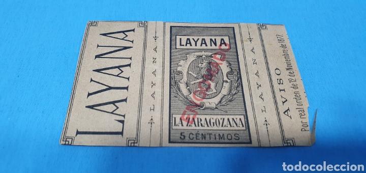 Coleccionismo Papel Varios: PAPEL DE FUMAR LAYANA LA ZARAGOZANA- PHRYNE ANTE EL TRIBUNAL - GEROME - Foto 2 - 213761445