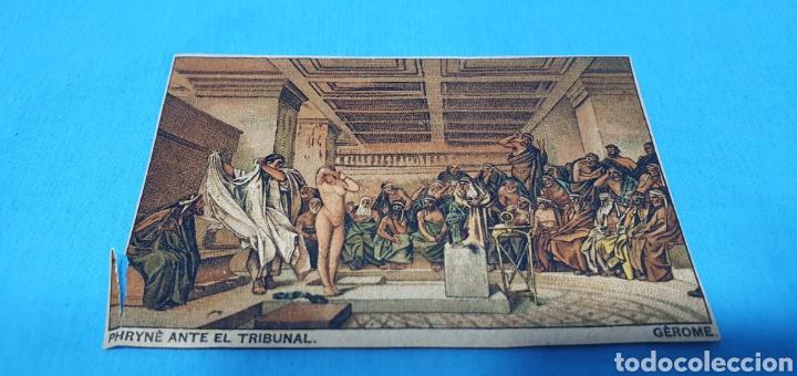 PAPEL DE FUMAR LAYANA LA ZARAGOZANA- PHRYNE ANTE EL TRIBUNAL - GEROME (Coleccionismo en Papel - Varios)