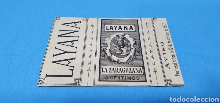 Coleccionismo Papel Varios: PAPEL DE FUMAR LAYANA LA ZARAGOZANA- BABETTE - G. HOM - Foto 2 - 213761712