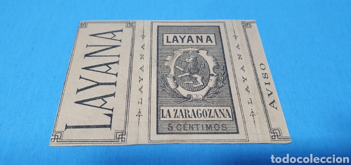 Coleccionismo Papel Varios: PAPEL DE FUMAR - LAYANA LA ZARAGOZANA - MAGDALENA - E. BENNER - Foto 2 - 213761991