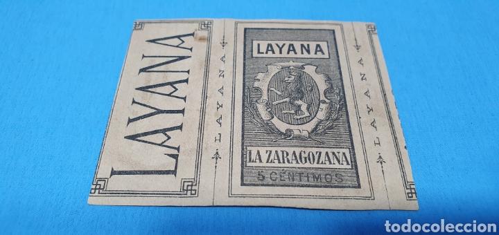 Coleccionismo Papel Varios: PAPEL DE FUMAR - LAYANA LA ZARAGOZANA - SAN INQUISIDOR ANTE LOS REYES CATÓLICOS - J. LAURENT - Foto 2 - 213762366