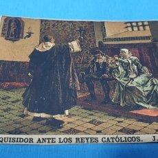 Coleccionismo Papel Varios: PAPEL DE FUMAR - LAYANA LA ZARAGOZANA - SAN INQUISIDOR ANTE LOS REYES CATÓLICOS - J. LAURENT. Lote 213762366