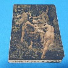 Coleccionismo Papel Varios: PAPEL DE FUMAR - LAYANA LA ZARAGOZANA - LAS NINFAS Y EL SÁTIRO - W. BOUGUEREAU. Lote 213764981