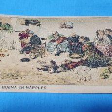 Coleccionismo Papel Varios: PAPEL DE FUMAR - LAYANA LA ZARAGOZANA - LA NOCHE BUENA EN NÁPOLES - V. YROLLI.. Lote 213766463