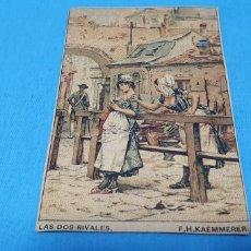 Coleccionismo Papel Varios: PAPEL DE FUMAR - LAYANA LA ZARAGOZANA - LAS DOS RIVALES - F.H.KAEMMERER. Lote 213767153