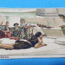 Coleccionismo Papel Varios: PAPEL DE FUMAR - LAYANA LA ZARAGOZANA - CANTOS DE HOMERO - ALMA TADEMA. Lote 213850915