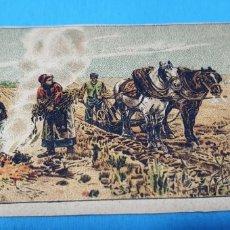 Coleccionismo Papel Varios: PAPEL DE FUMAR - LAYANA LA ZARAGOZANA - EN OTOÑO - ADRIEN MOREAU. Lote 213855326