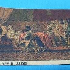 Coleccionismo Papel Varios: PAPEL DE FUMAR - LAYANA LA ZARAGOZANA - MUERTE DEL REY D. JAIME - PINAZO. Lote 213855487