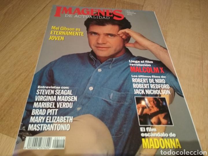 REVISTA DE CINE IMÁGENES DE ACTUALIDAD 1993 MADONNA MEL GIBSON (Coleccionismo en Papel - Varios)