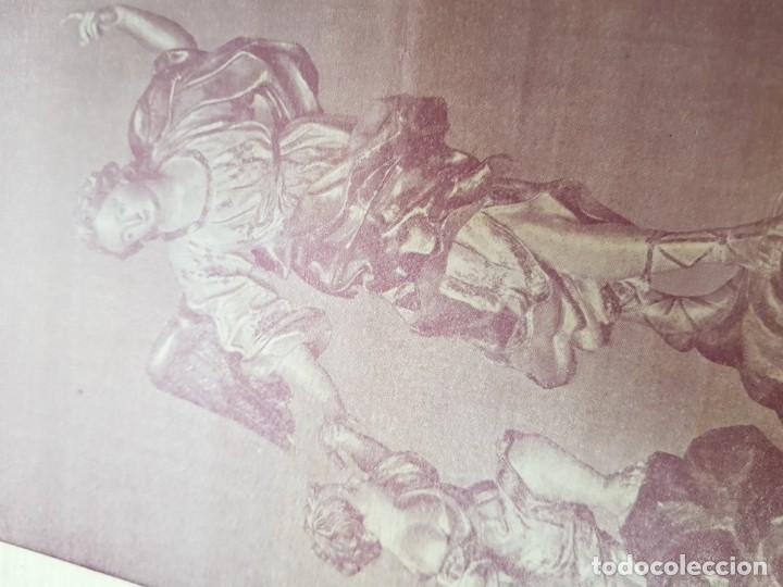 Coleccionismo Papel Varios: ANTIGUA LAMINA EL ANGEL DE LA GUARDA SALZILLO MURCIA DESTRUIDA GUERRA CIVIL - Foto 3 - 214330317