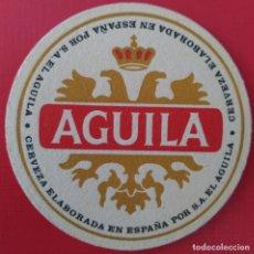 Coleccionismo Papel Varios: POSAVASOS - CERVEZA EL AGUILA.. Lote 214474312
