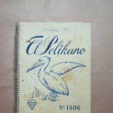 Coleccionismo Papel Varios: CUADERNO ESCUELA COLEGIO INPER EL PELIKANO 1406. Lote 215541547