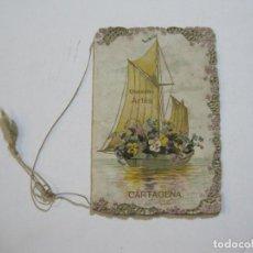Altri oggetti di carta: CARTAGENA-CHOCOLATES ARTES-GRAN FABRICA DE FCO CATA-CATALOGO PUBLICIDAD-VER FOTOS-(V-22.029). Lote 215586220