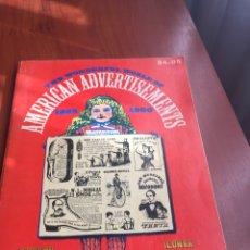 Coleccionismo Papel Varios: AMERICAN ADVERTISEMEANTS. Lote 215929326
