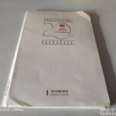Coleccionismo Papel Varios: COLECCIÓN COMPLETA CONSTITUCIÓN ESPAÑOLA 20 AÑOS DE HISTORIA DEMOCRÁTICA (EL MUNDO). Lote 216790058
