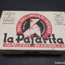 Coleccionismo Papel Varios: PAPEL PARA LIMPIEZA DE CRISTALES LA PAJARITA. Lote 216825383