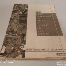 Coleccionismo Papel Varios: LA INDUMENTARIA DEL MEDICO A TRAVÉS DE SUS ÉPOCAS (ED. IND. FARM. ESPAÑOLA S.A., CARLOS ERBA). Lote 217130865