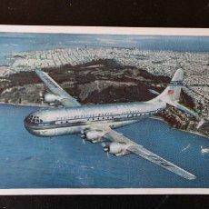 Coleccionismo Papel Varios: LOTE PUBLICIDAD - PAA PAN AMERICAN WORLD AIRWAYS - POSTAL, SELECTOR HORARIO Y SOBRE DE AZUCAR. Lote 217415856