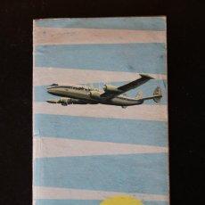 Coleccionismo Papel Varios: LOTE PUBLICIDAD - LUFTHANSA - PACK DE ABORDO 1956. Lote 217416856