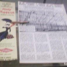 Coleccionismo Papel Varios: RECORTE PUBLICIDAD AÑO 1965 - MUÑECA FAMOSA , FABRICA AGRUPADAS DE MUÑECAS ONIL S,A,-ALICANTE. Lote 217633921