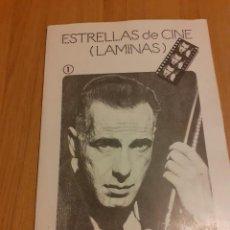 Coleccionismo Papel Varios: ESTRELLAS DE CINE. LÁMINAS. Lote 218242581