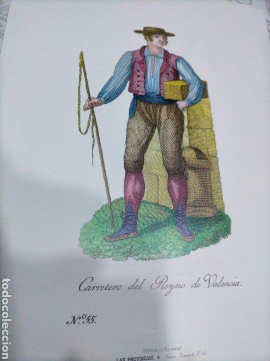 LAMINA CARRETERO DEL REYNO DE VALENCIA (Coleccionismo en Papel - Varios)