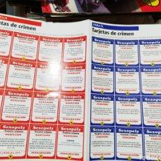 Coleccionismo Papel Varios: 32 CROMOS TARJETAS JUEGO DE LA REVISTA FHM. Lote 218253935